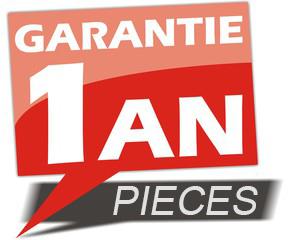 Garantie 1 an pièces