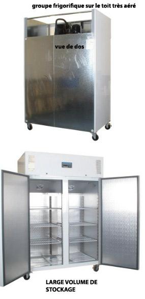 armoire cong lateur blanc de stockage 1200l gn 2 1. Black Bedroom Furniture Sets. Home Design Ideas