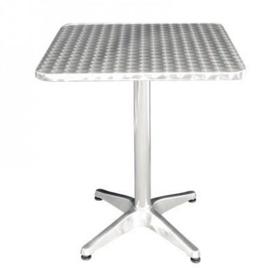 Table de bistro carrée
