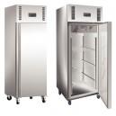 Armoire inox réfrigérée 1 porte sur roulettes 650L