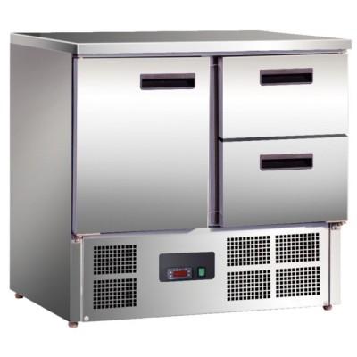 Table réfrigérée compacte 240L