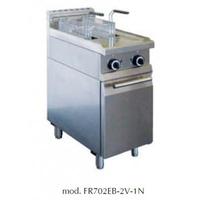 Friteuse électrique 2X 7L