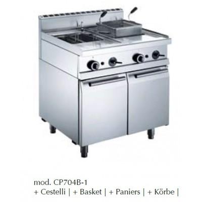 Cuisseur à pâtes à gaz 2X 26L
