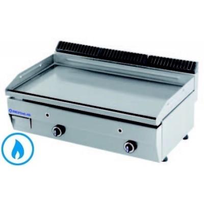 PLANCHA GAZ INOX 600 × 550