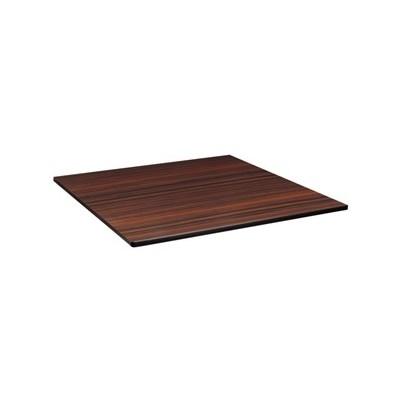 Plateau de table extérieure carrée 600 x 600