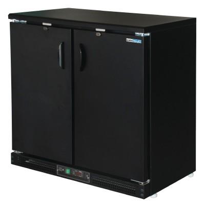 Arrière bar réfrigéré - Bouteille 2 portes