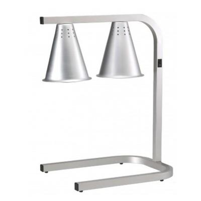 Lampe chauffante double GN 1/1