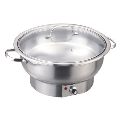 Chafing dish électrique rond