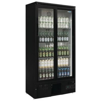 Armoire à boissons 2 portes coulissantes