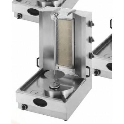 Gyros gaz avec 3 bruleurs infrarouge