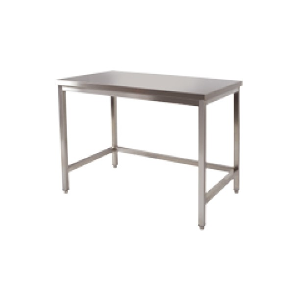Table Centrale Cuisine: Table Centrale Inox P800