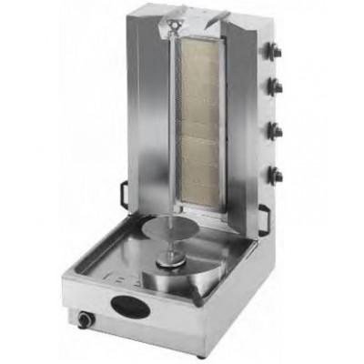 Gyros gaz avec 4 bruleurs infrarouge