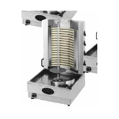 Gyros électrique avec 4 sections