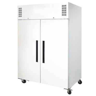 Réfrigérateur gastro double porte 1200L blanche
