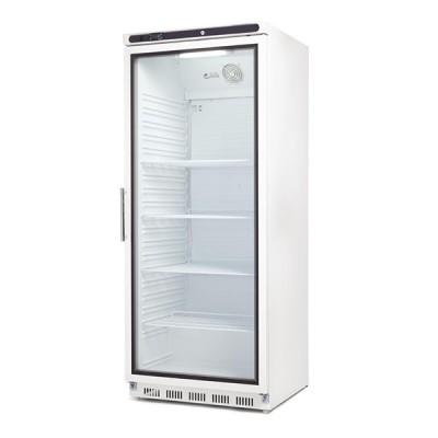 Armoire réfrigérée blanche vitrée 600 litres GN 2/1
