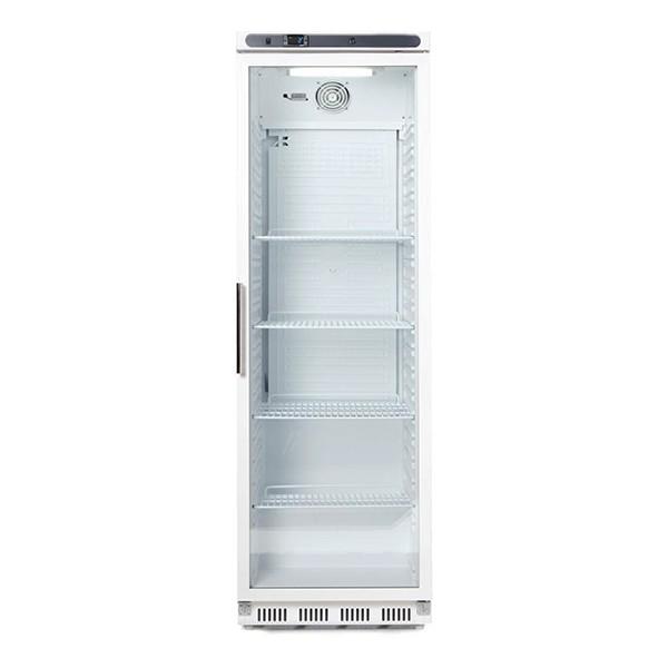 armoire stockage blanche de stockage 400l vitr e. Black Bedroom Furniture Sets. Home Design Ideas