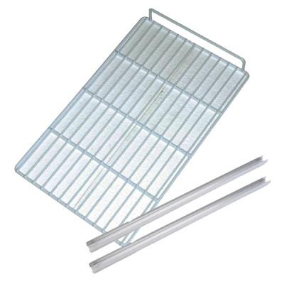 Ensemble complet grille + glissières pour armoire réfrigérée