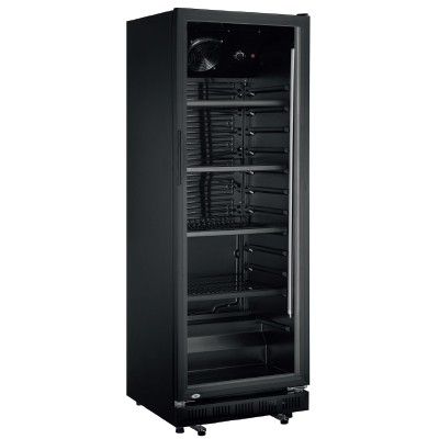 Armoire réfrigérée ventilée noire GTK 360