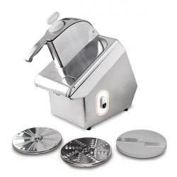 Robot coupe légumes Titanium monophasé + 3 disques
