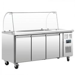 Comptoir réfrigéré GN 3 portes
