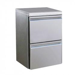 Bloc 2 tiroirs pour table réfrigérée