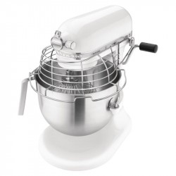 Robot mixeur KitchenAid 7L blanc