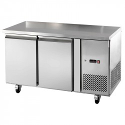 Tables inox GN 1/1 tropicales sans dosseret