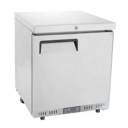 Table top inox porte pleine