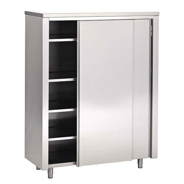 armoire haute inox portes coulissantes 700 europrojet promocold. Black Bedroom Furniture Sets. Home Design Ideas