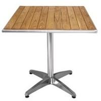 Tables bois et apparence bois