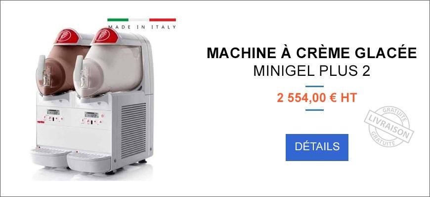 Machine à crème glacée - Double - MINIGEL Plus 2