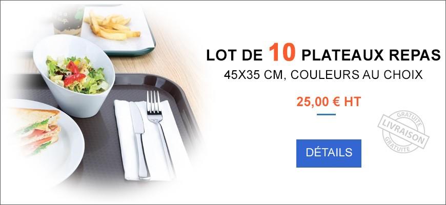 Plateaux repas 35x45 cm